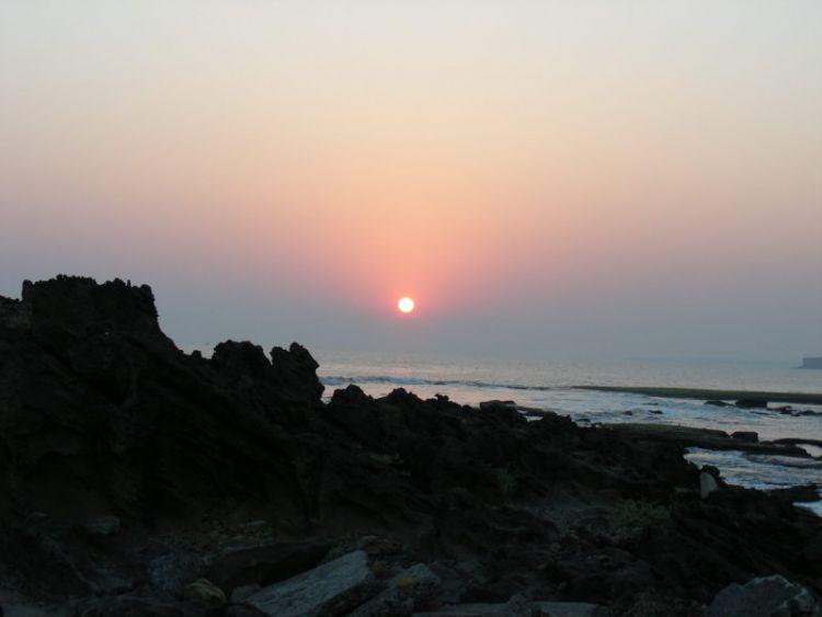 Закат в Диу